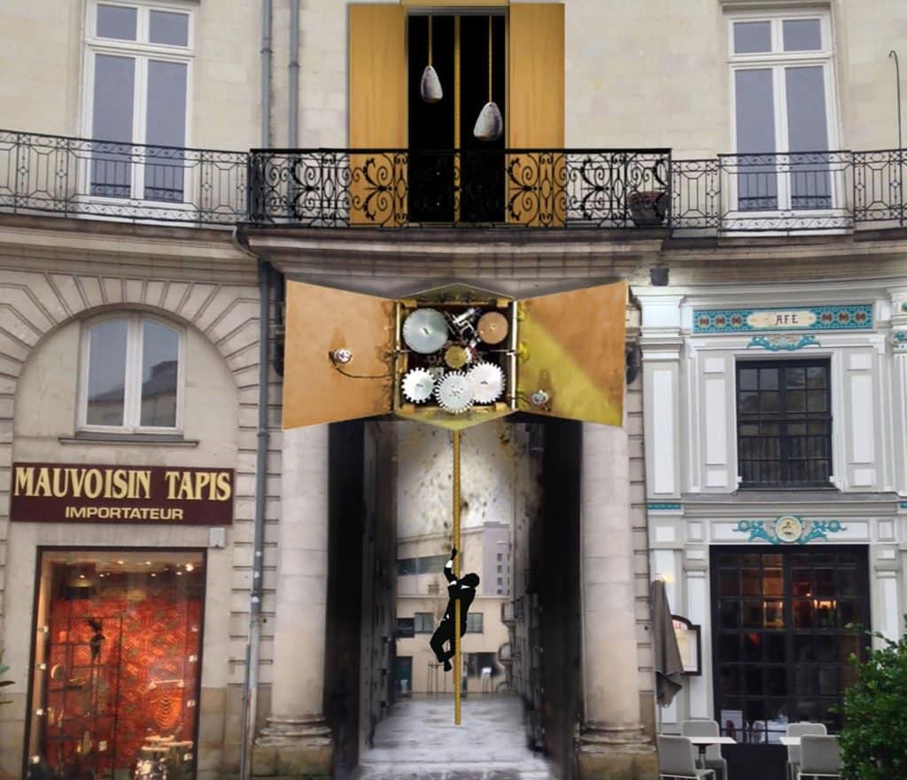 Human Clock Le Voyage à Nantes